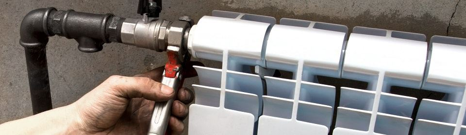CV service voor kapotte radiator